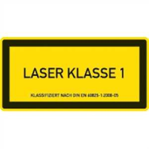 Klasse 1 - Lasereinrichtungen