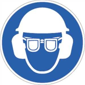 Gehörschutz, Augenschutz und Kopfschutz benutzen-Copy