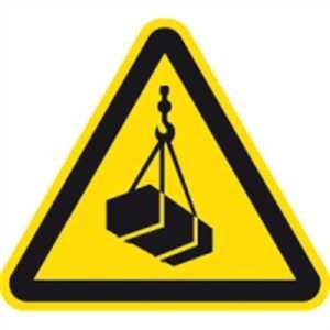 Warnung vor schwebenden Lasten