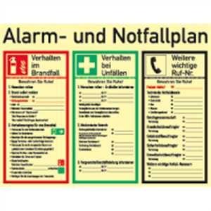 Alarm- und Notfallplan