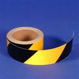 Warnmarkierung reflektierend, gelb-schwarz