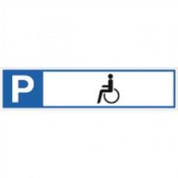 Parkplatzreservierer Behindertenparkplatz