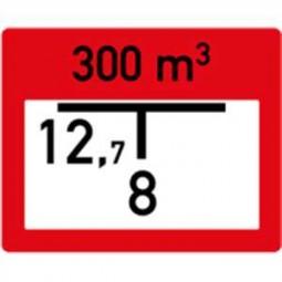 Hinweisschild auf eine Entnahmestelle aus Löschwasserbehälter (B2)