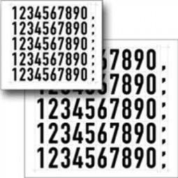 Bogen-Set (schwarz) für Hinweisschild
