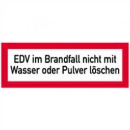 EDV im Brandfall nicht mit Wasser oder Pulver löschen
