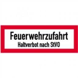 Feuerwehrzufahrt Halteverbot nach StVO