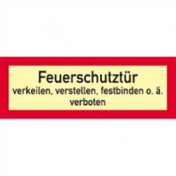Feuerschutztür …