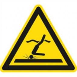 Warnung vor flachem Wasser (Kopfsprung)