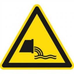 Warnung vor Abwassereinleitung