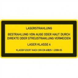 Laser Klasse 4 - Lasereinrichtungen