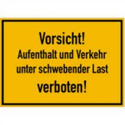 Vorsicht! Aufenthalt und Verkehr …