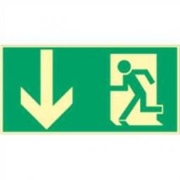 Rettungsweg nach unten