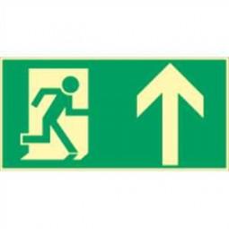 Rettungsweg nach oben