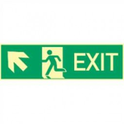 Exit links aufwärts