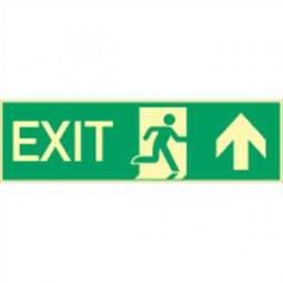 Exit nach oben / Exit durch Ausgang