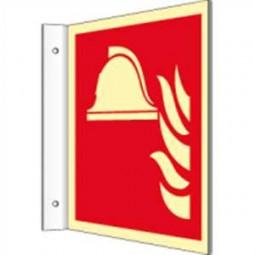 Fahnenschild - Mittel und Geräte zur Brandbekämpfung