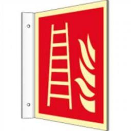 Fahnenschild - Feuerleiter