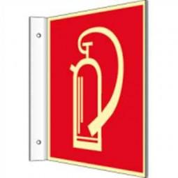 Fahnenschild - Feuerlöscher