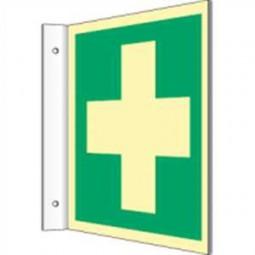 Fahnenschild - Erste Hilfe