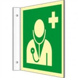 Fahnenschild - Arzt