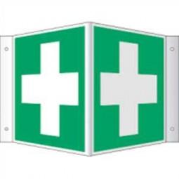Winkelschild - Erste Hilfe