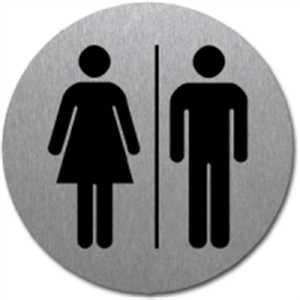 Piktogramm - WC Damen/Herren