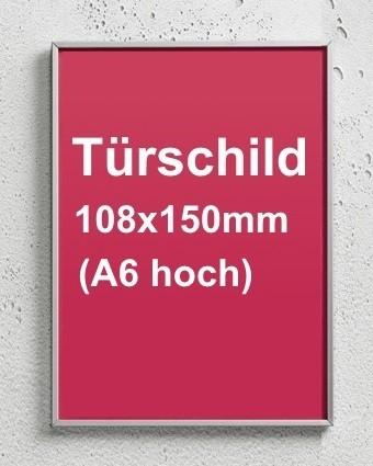 Türschild FORMOeinschub, Schraubmontage