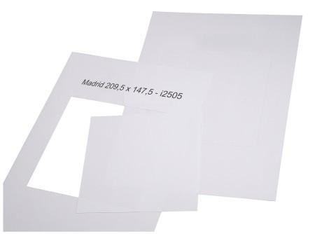 Madrid Papiereinlagen Türschild DIN A5