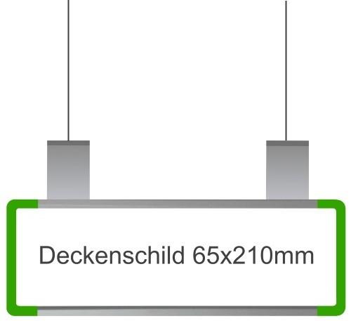 Hängeschild Signcode grün, papierflexibel