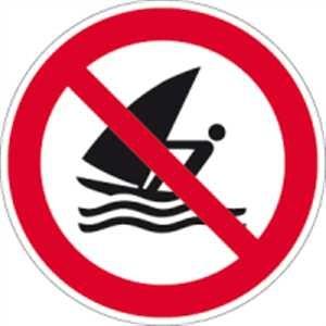 Windsurfen verboten