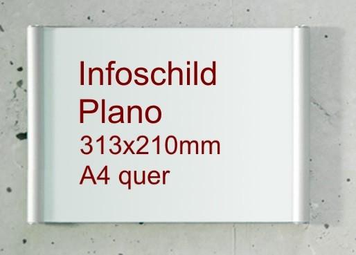 PLano Infoschild