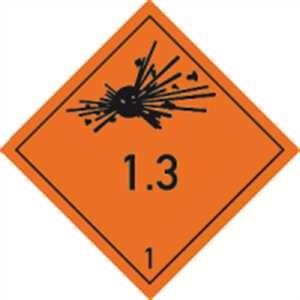 Explosive Stoffe u. Gegenstände mit Exlosivstoff