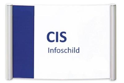 CIS Infoschild, Schraubmontage