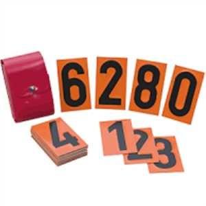 Ziffernsatz zum Nachrüsten für Warntafel mit Wechselziffern
