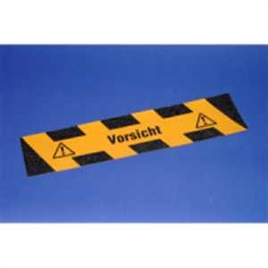 Trittschutzmarkierung - Vorsicht