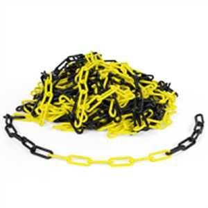 PP-Absperrkette gelb-schwarz