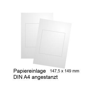Papiereinlege für Türschild 150