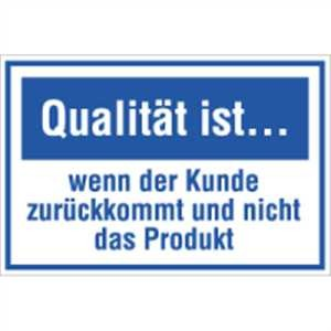 Qualität ist ...…
