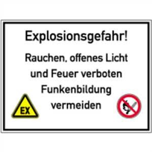 Explosionsgefahr!