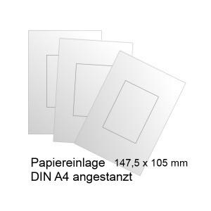 RIO-Papiereinlagen für Türschild DIN A6