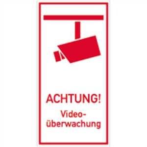 Achtung! Video-Überwachung