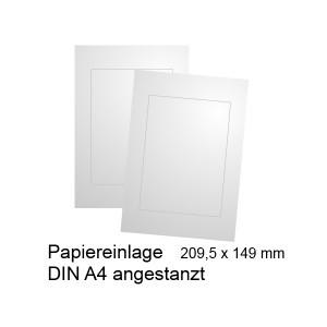 Papiereinlage für Türschild DIN A6