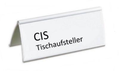CIS Tischaufsteller