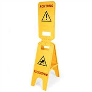 Warnaufsteller Top open - Warnung vor Rutschgefahr
