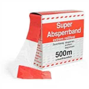 Absperrband SUPER - extrem reißfest