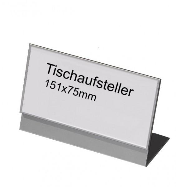 Tischaufsteller 151 x 75 mm