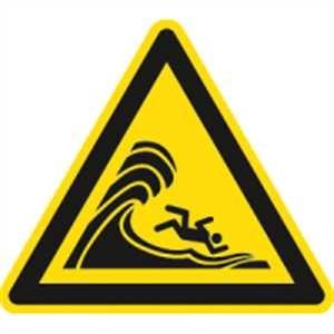 Warnung vor hoher Brandung