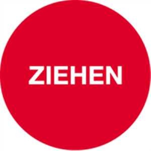 Türhinweis - ZIEHEN