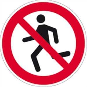 Laufen verboten