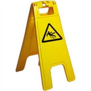 Warnaufsteller - Warnung vor Rutschgefahr